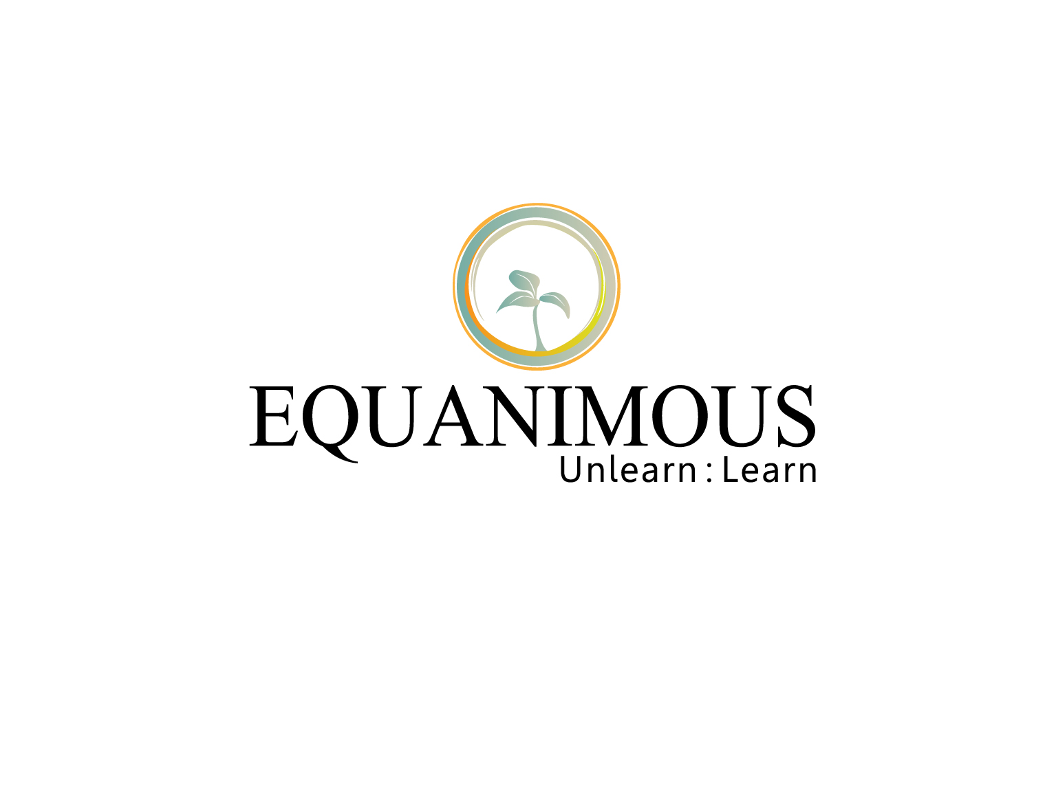 Logo Design by 3draw - Entry No. 118 in the Logo Design Contest Logo Design : EQUANIMOUS : Productivity | Learning | Design.