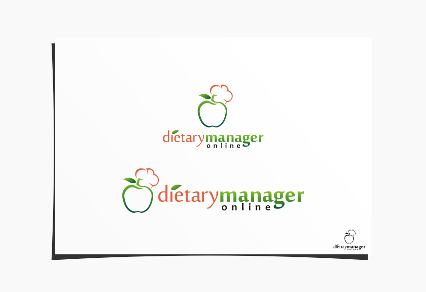 Logo Design by graphicleaf - Entry No. 39 in the Logo Design Contest Fun Logo Design for Dietary Manager Online.