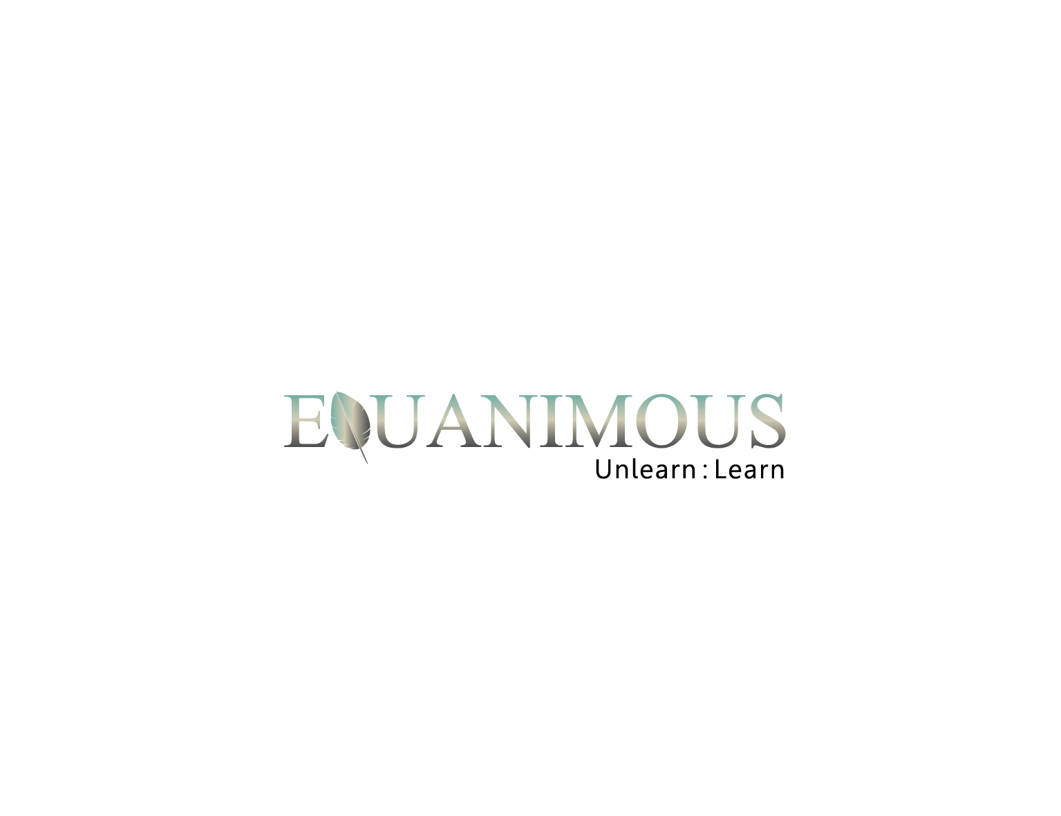 Logo Design by 3draw - Entry No. 121 in the Logo Design Contest Logo Design : EQUANIMOUS : Productivity | Learning | Design.