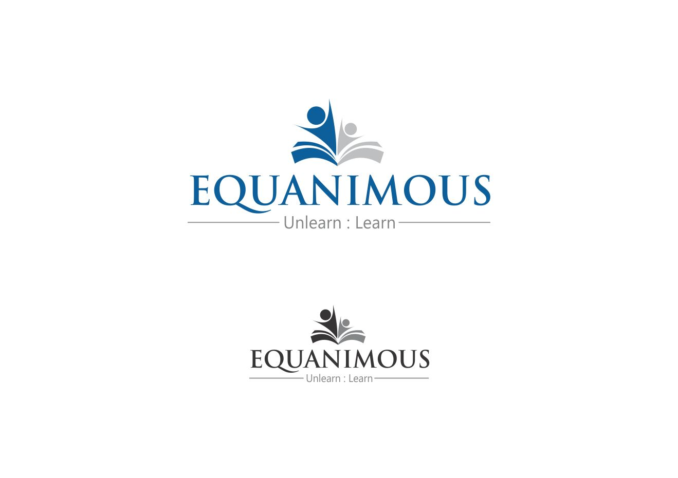 Logo Design by Muhammad Aslam - Entry No. 124 in the Logo Design Contest Logo Design : EQUANIMOUS : Productivity | Learning | Design.