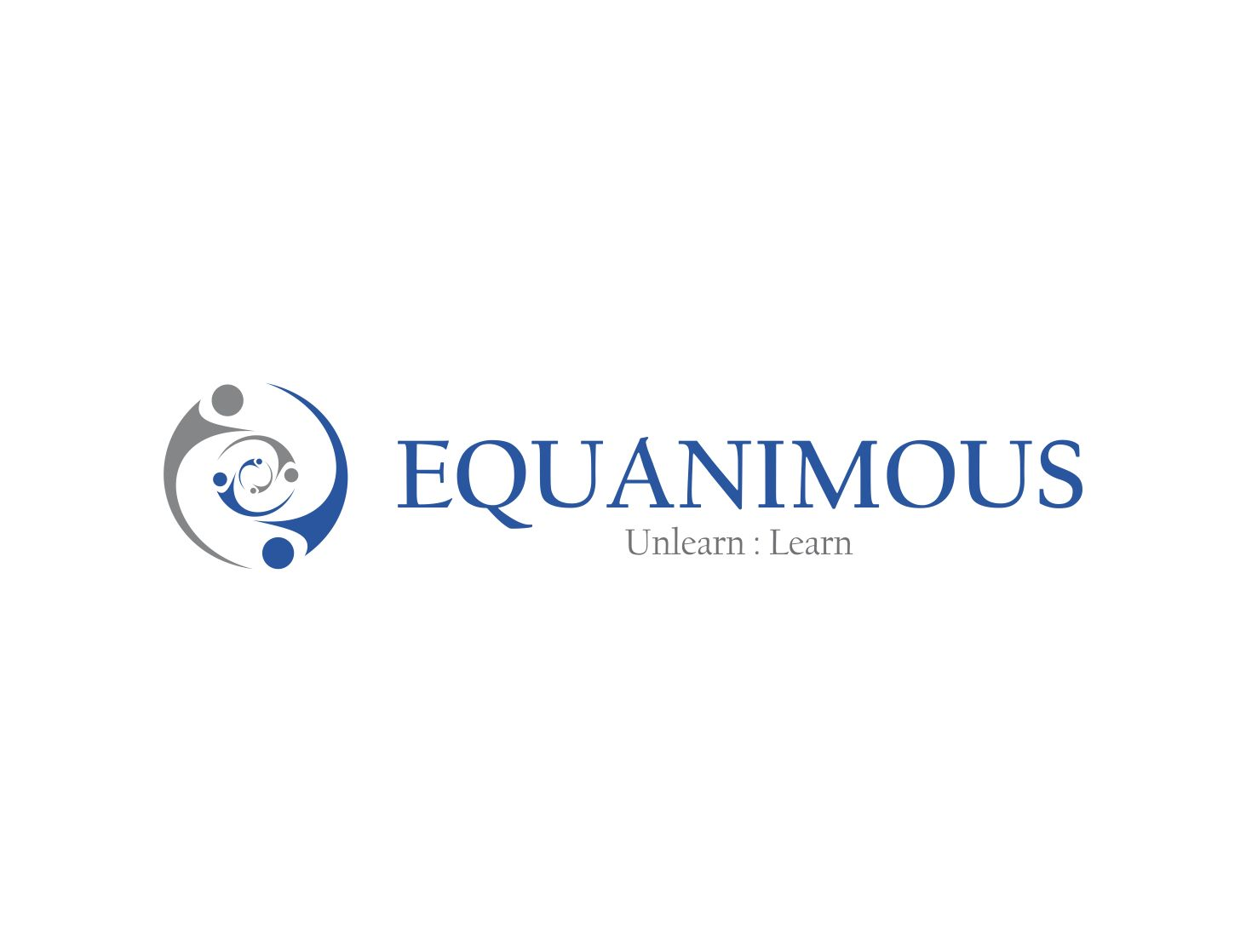 Logo Design by Muhammad Aslam - Entry No. 131 in the Logo Design Contest Logo Design : EQUANIMOUS : Productivity | Learning | Design.