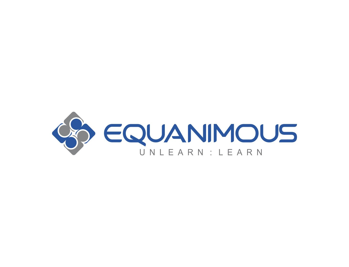 Logo Design by Muhammad Aslam - Entry No. 132 in the Logo Design Contest Logo Design : EQUANIMOUS : Productivity | Learning | Design.
