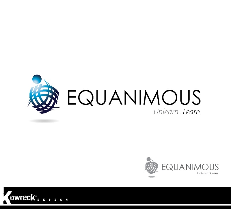 Logo Design by kowreck - Entry No. 133 in the Logo Design Contest Logo Design : EQUANIMOUS : Productivity | Learning | Design.
