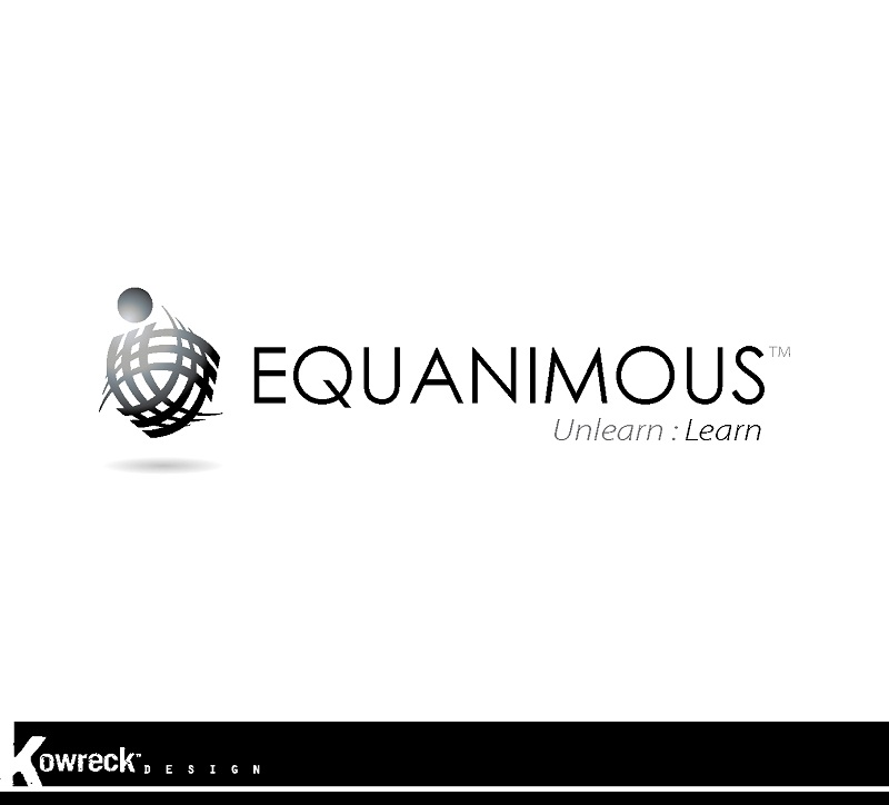 Logo Design by kowreck - Entry No. 134 in the Logo Design Contest Logo Design : EQUANIMOUS : Productivity | Learning | Design.