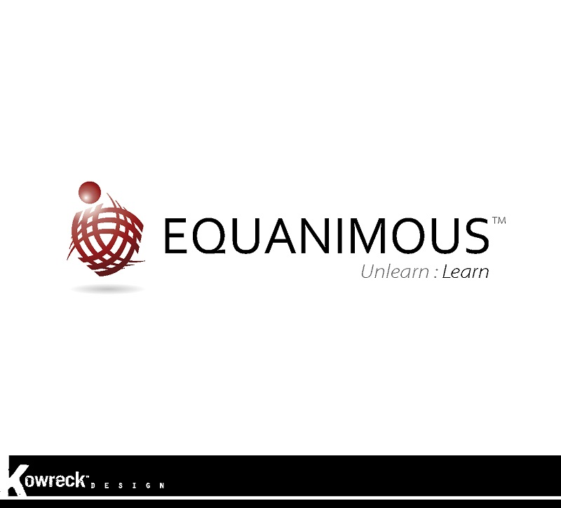 Logo Design by kowreck - Entry No. 136 in the Logo Design Contest Logo Design : EQUANIMOUS : Productivity | Learning | Design.
