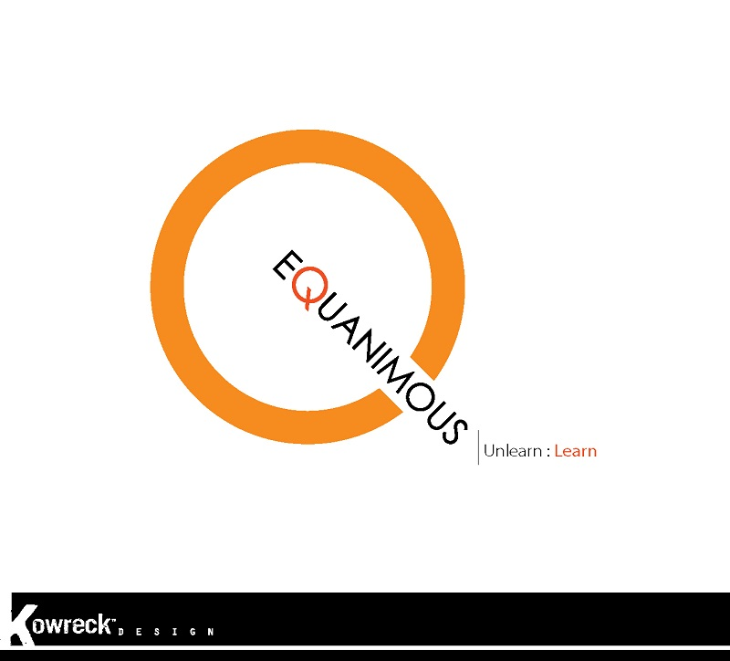 Logo Design by kowreck - Entry No. 137 in the Logo Design Contest Logo Design : EQUANIMOUS : Productivity | Learning | Design.