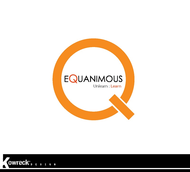 Logo Design by kowreck - Entry No. 138 in the Logo Design Contest Logo Design : EQUANIMOUS : Productivity | Learning | Design.