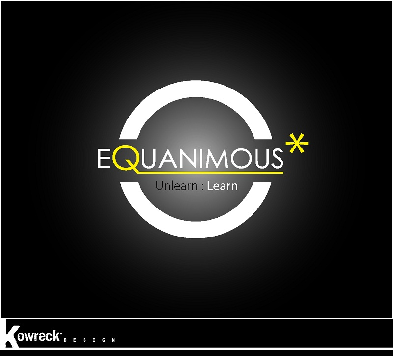 Logo Design by kowreck - Entry No. 140 in the Logo Design Contest Logo Design : EQUANIMOUS : Productivity | Learning | Design.