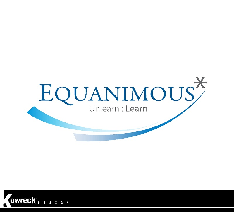 Logo Design by kowreck - Entry No. 141 in the Logo Design Contest Logo Design : EQUANIMOUS : Productivity | Learning | Design.