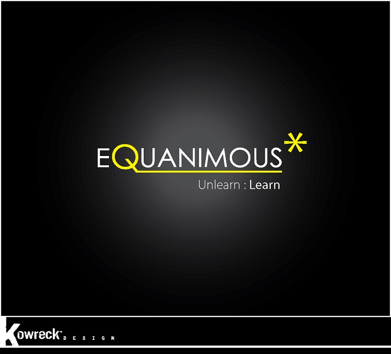 Logo Design by kowreck - Entry No. 142 in the Logo Design Contest Logo Design : EQUANIMOUS : Productivity | Learning | Design.