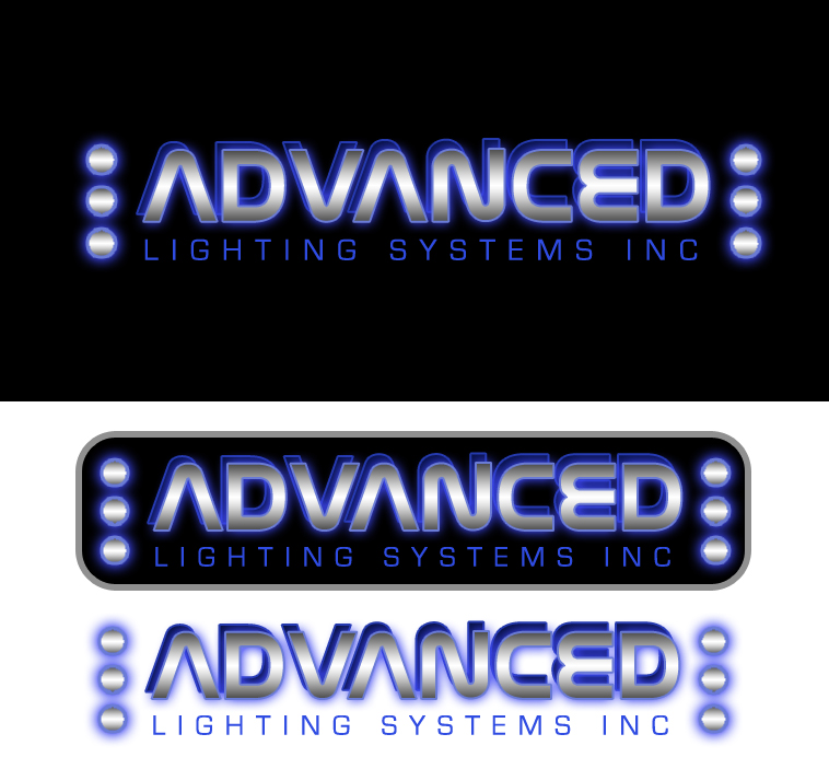 Logo Design by elmd - Entry No. 63 in the Logo Design Contest New Logo Design Needed for  Company Advanced Lighting Systems Inc..