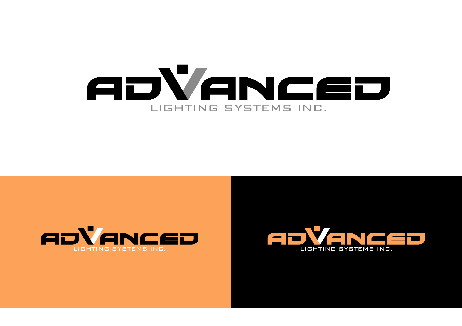 Logo Design by Wilfredo Mendoza - Entry No. 66 in the Logo Design Contest New Logo Design Needed for  Company Advanced Lighting Systems Inc..