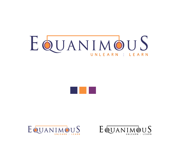 Logo Design by elmd - Entry No. 145 in the Logo Design Contest Logo Design : EQUANIMOUS : Productivity | Learning | Design.