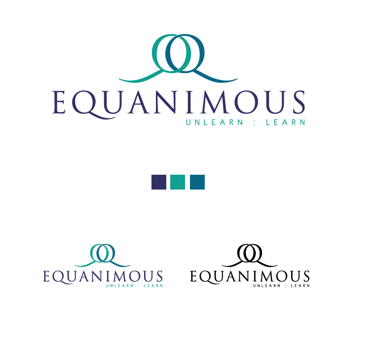 Logo Design by elmd - Entry No. 147 in the Logo Design Contest Logo Design : EQUANIMOUS : Productivity | Learning | Design.