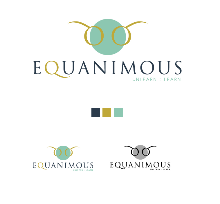 Logo Design by elmd - Entry No. 148 in the Logo Design Contest Logo Design : EQUANIMOUS : Productivity | Learning | Design.