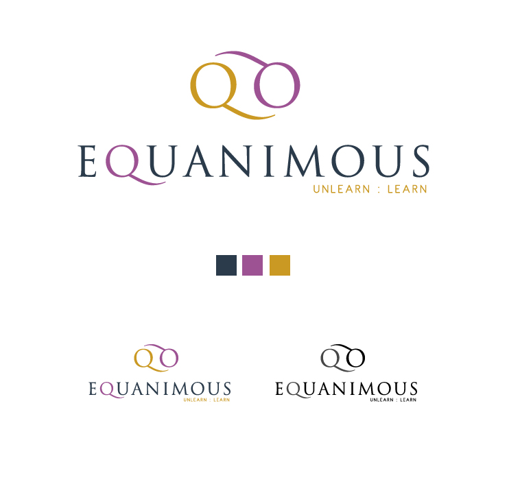 Logo Design by elmd - Entry No. 149 in the Logo Design Contest Logo Design : EQUANIMOUS : Productivity | Learning | Design.