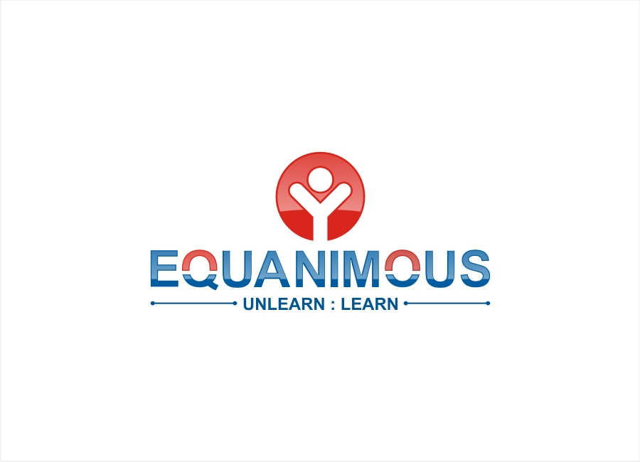 Logo Design by Private User - Entry No. 151 in the Logo Design Contest Logo Design : EQUANIMOUS : Productivity | Learning | Design.