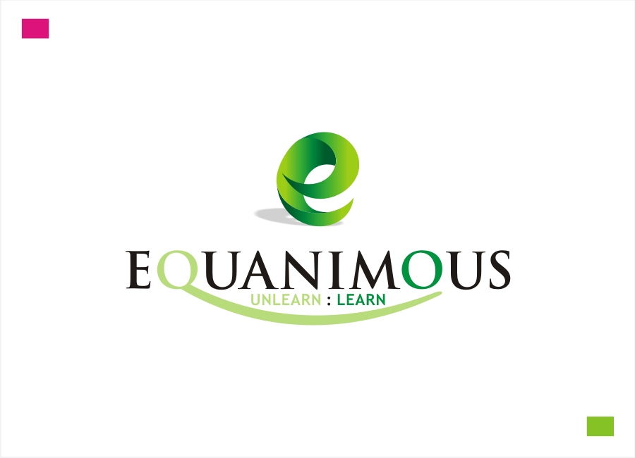 Logo Design by Private User - Entry No. 152 in the Logo Design Contest Logo Design : EQUANIMOUS : Productivity | Learning | Design.