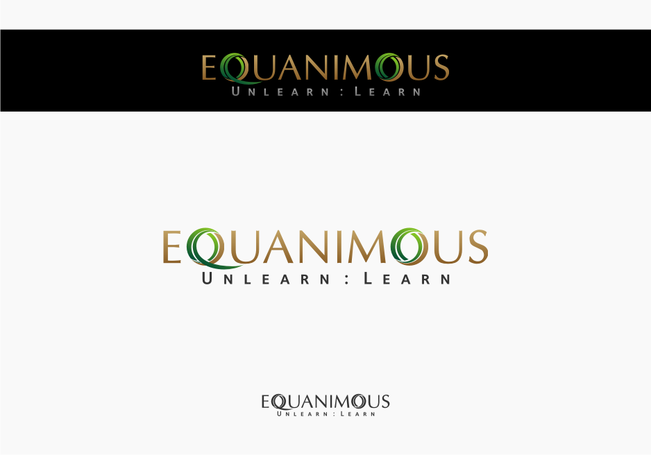 Logo Design by graphicleaf - Entry No. 155 in the Logo Design Contest Logo Design : EQUANIMOUS : Productivity | Learning | Design.