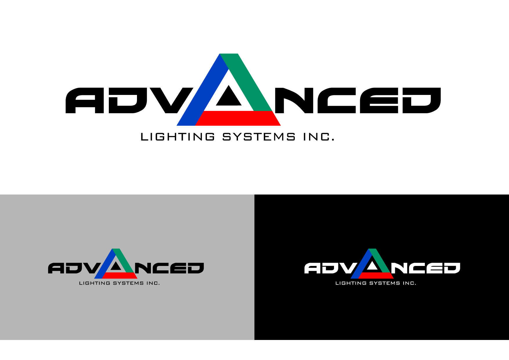 Logo Design by Wilfredo Mendoza - Entry No. 71 in the Logo Design Contest New Logo Design Needed for  Company Advanced Lighting Systems Inc..
