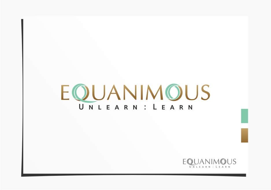 Logo Design by graphicleaf - Entry No. 161 in the Logo Design Contest Logo Design : EQUANIMOUS : Productivity | Learning | Design.