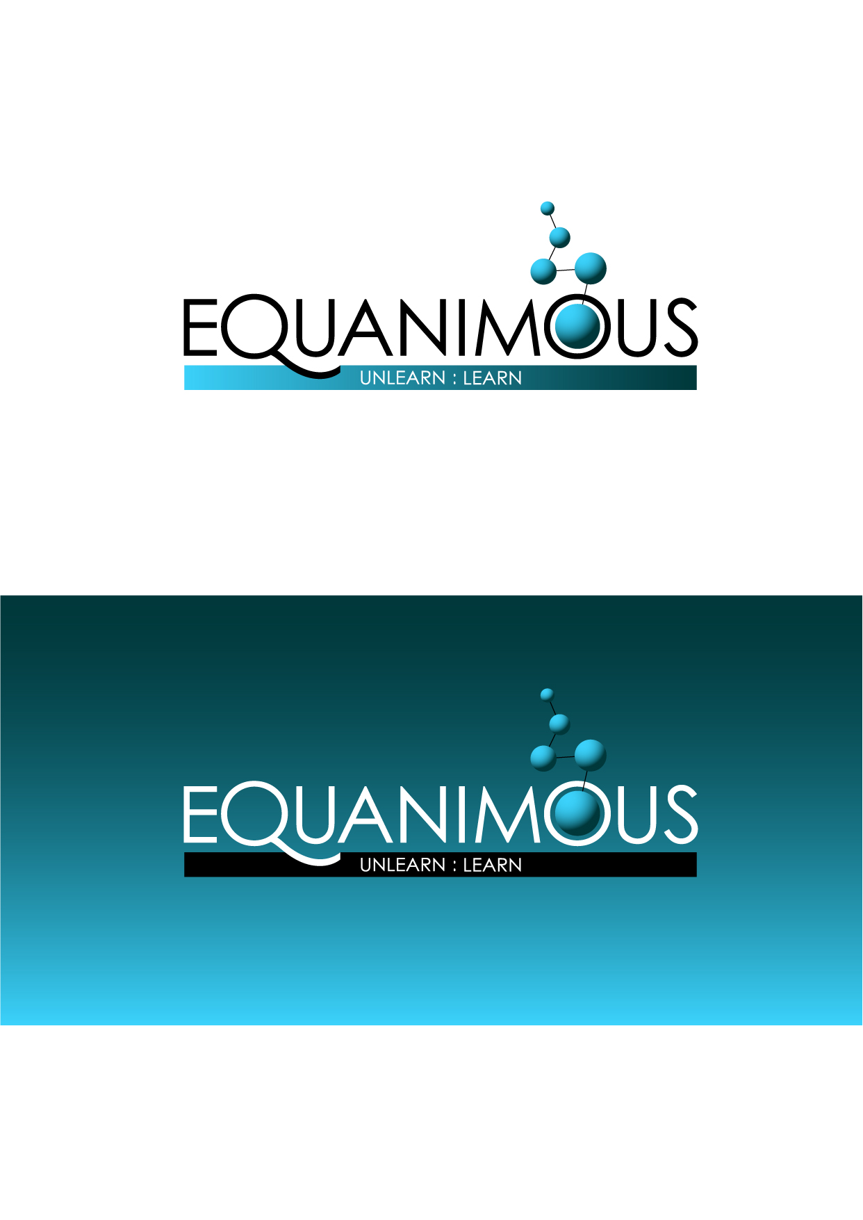 Logo Design by Wilfredo Mendoza - Entry No. 172 in the Logo Design Contest Logo Design : EQUANIMOUS : Productivity | Learning | Design.