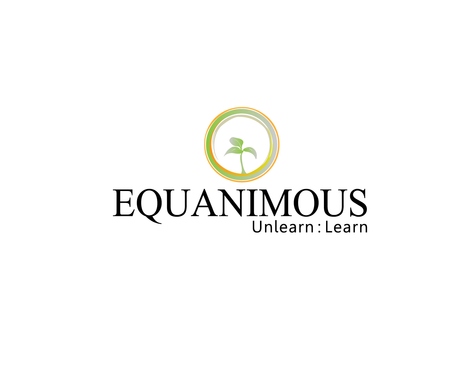 Logo Design by 3draw - Entry No. 183 in the Logo Design Contest Logo Design : EQUANIMOUS : Productivity | Learning | Design.