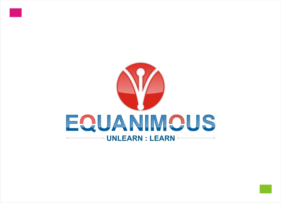 Logo Design by Private User - Entry No. 189 in the Logo Design Contest Logo Design : EQUANIMOUS : Productivity | Learning | Design.