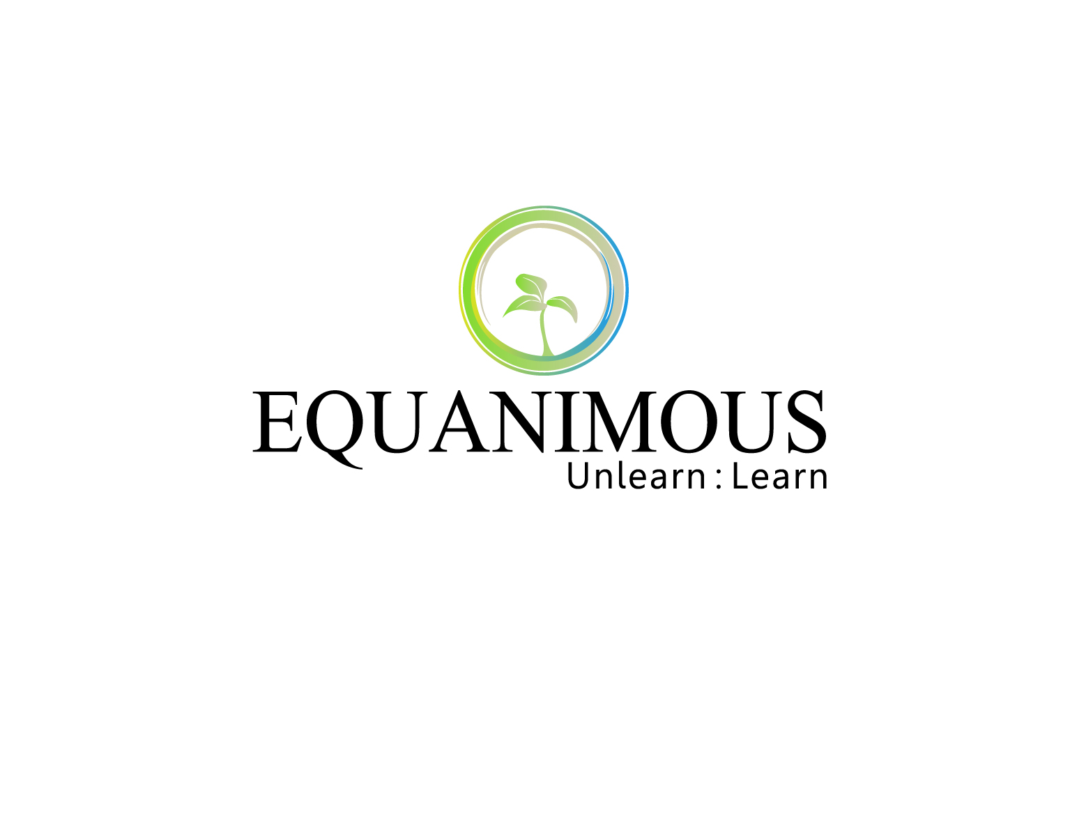 Logo Design by 3draw - Entry No. 190 in the Logo Design Contest Logo Design : EQUANIMOUS : Productivity | Learning | Design.