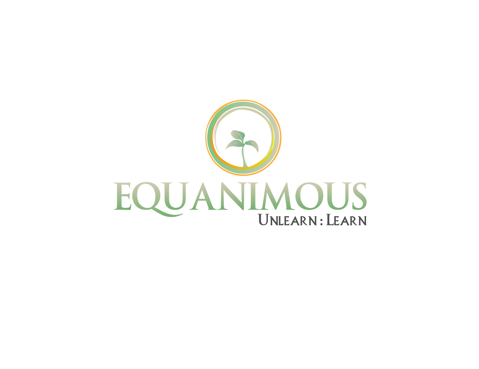 Logo Design by 3draw - Entry No. 191 in the Logo Design Contest Logo Design : EQUANIMOUS : Productivity | Learning | Design.