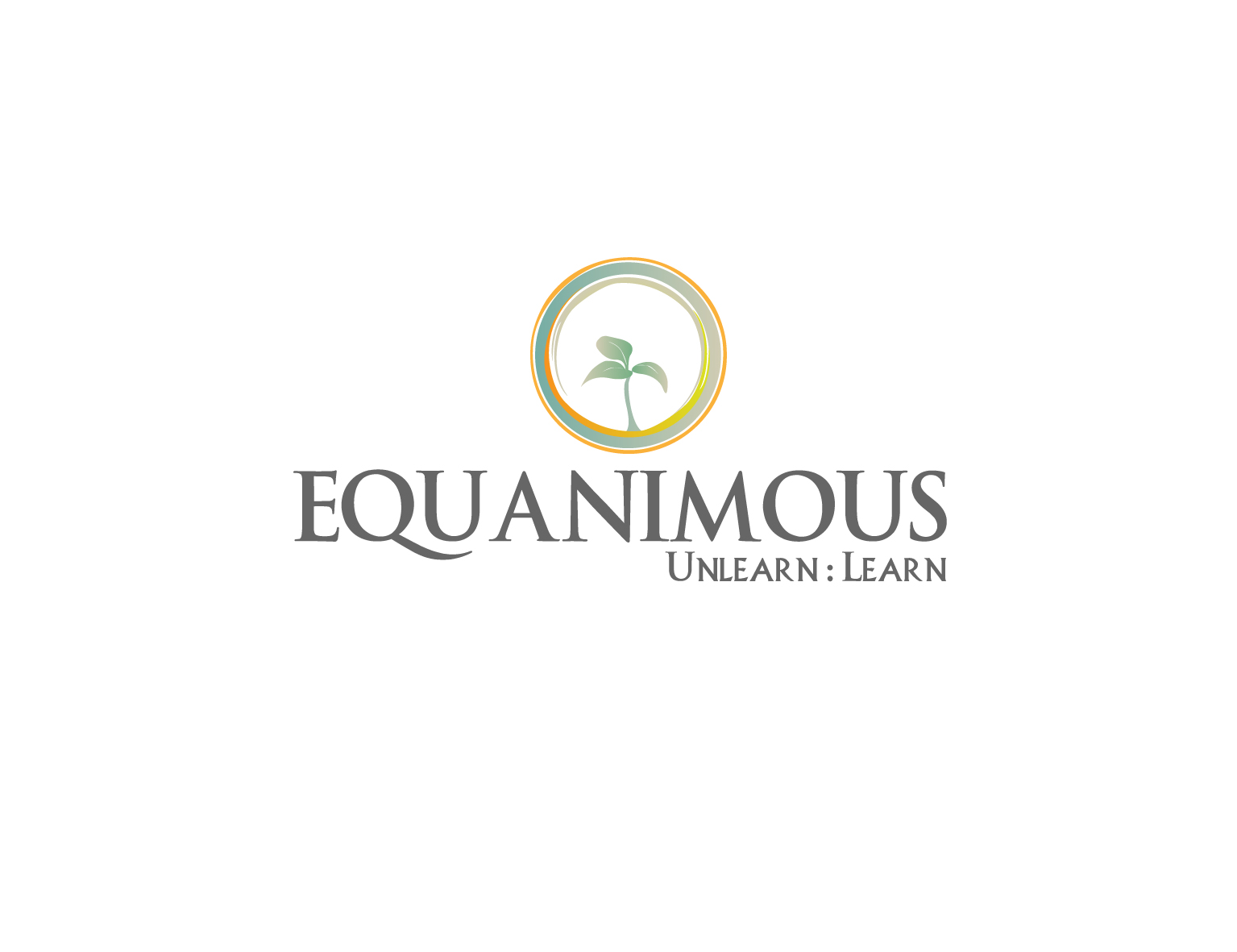 Logo Design by 3draw - Entry No. 192 in the Logo Design Contest Logo Design : EQUANIMOUS : Productivity | Learning | Design.