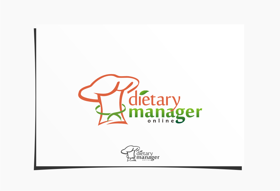 Logo Design by Muhammad Nasrul chasib - Entry No. 56 in the Logo Design Contest Fun Logo Design for Dietary Manager Online.