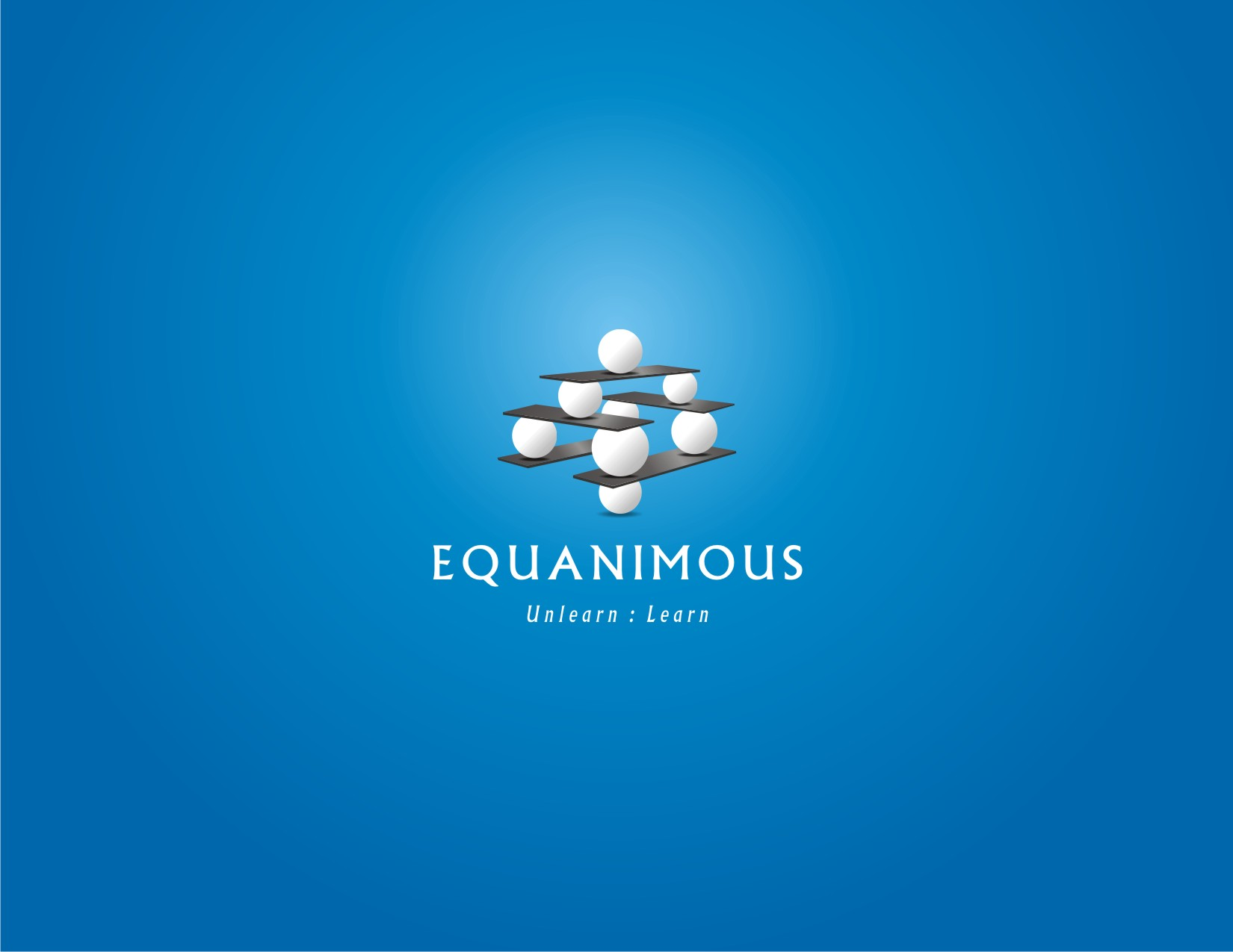 Logo Design by visuALchemy - Entry No. 205 in the Logo Design Contest Logo Design : EQUANIMOUS : Productivity | Learning | Design.