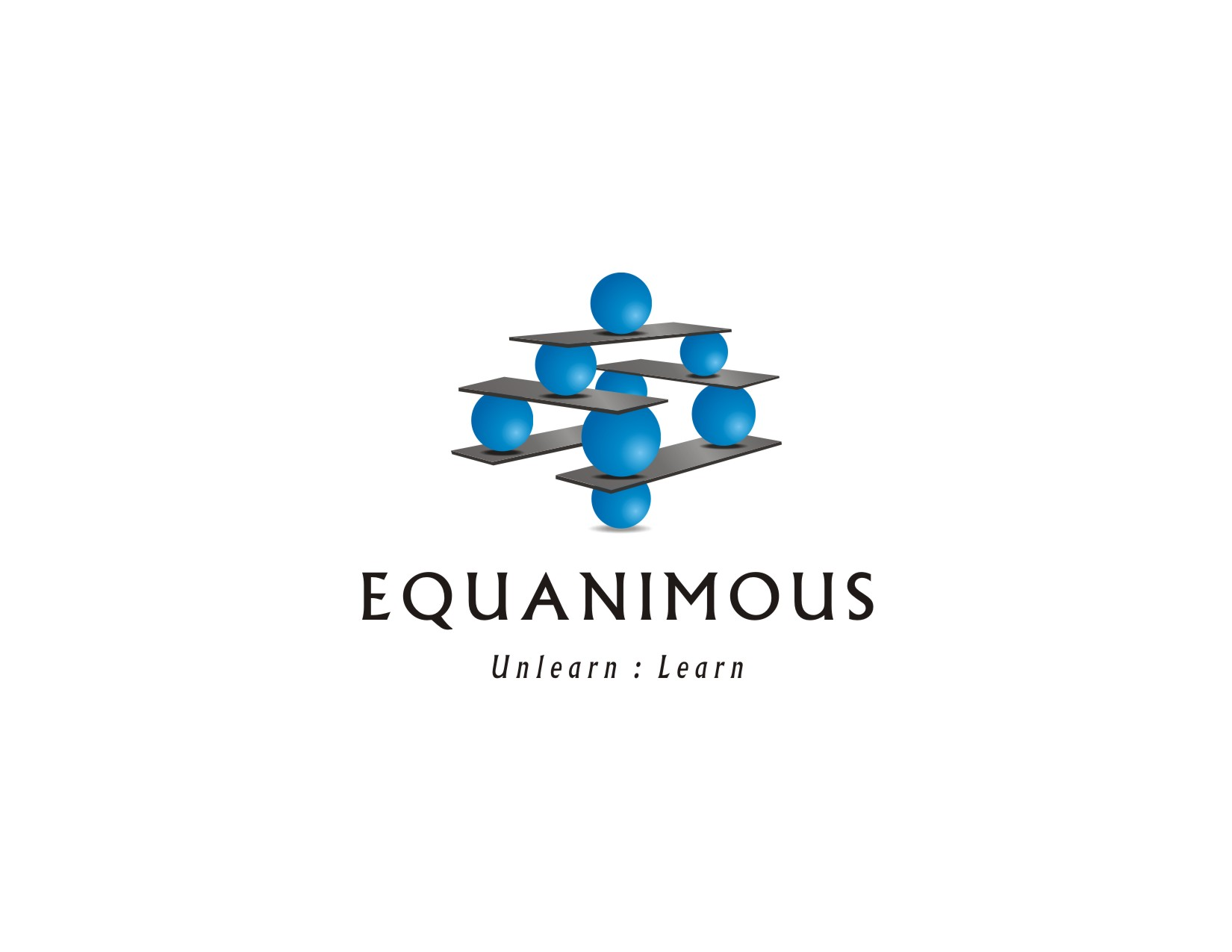 Logo Design by visuALchemy - Entry No. 206 in the Logo Design Contest Logo Design : EQUANIMOUS : Productivity | Learning | Design.
