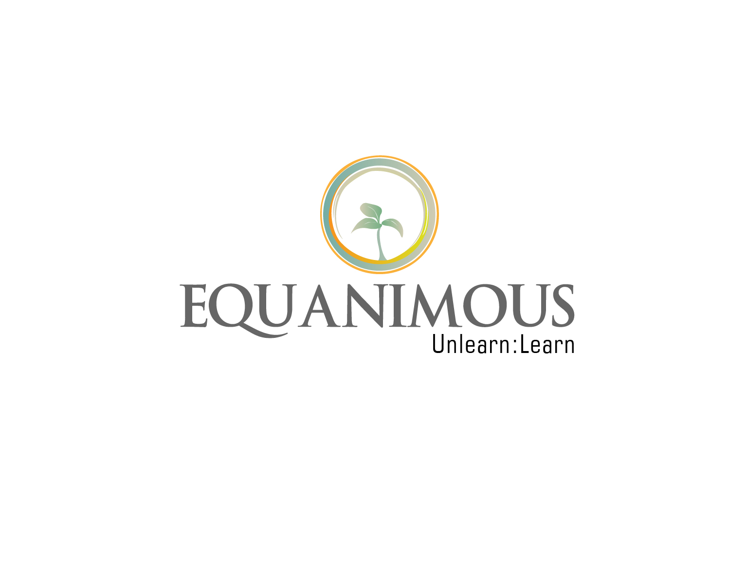 Logo Design by 3draw - Entry No. 207 in the Logo Design Contest Logo Design : EQUANIMOUS : Productivity | Learning | Design.