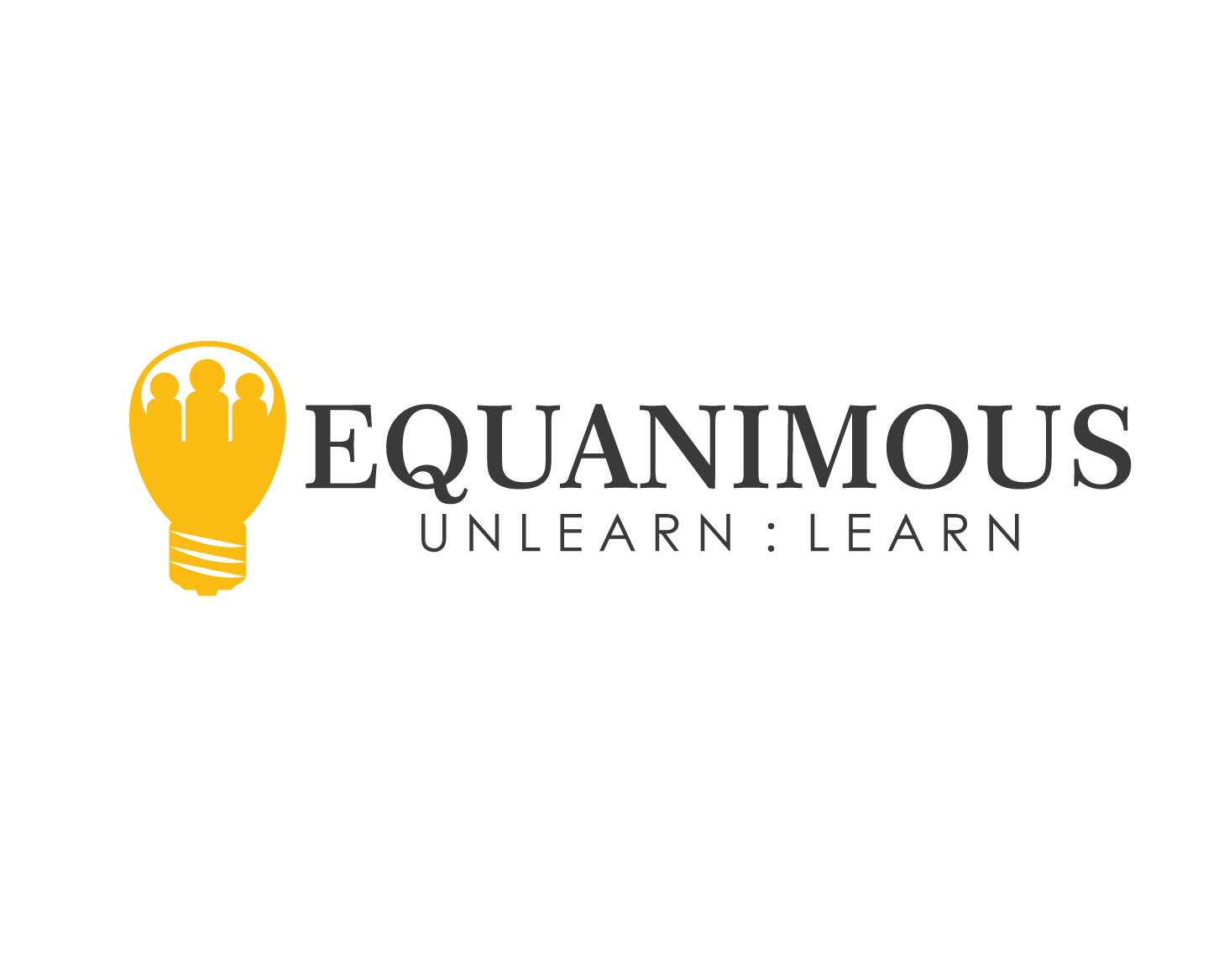 Logo Design by Roy Ferre - Entry No. 209 in the Logo Design Contest Logo Design : EQUANIMOUS : Productivity   Learning   Design.