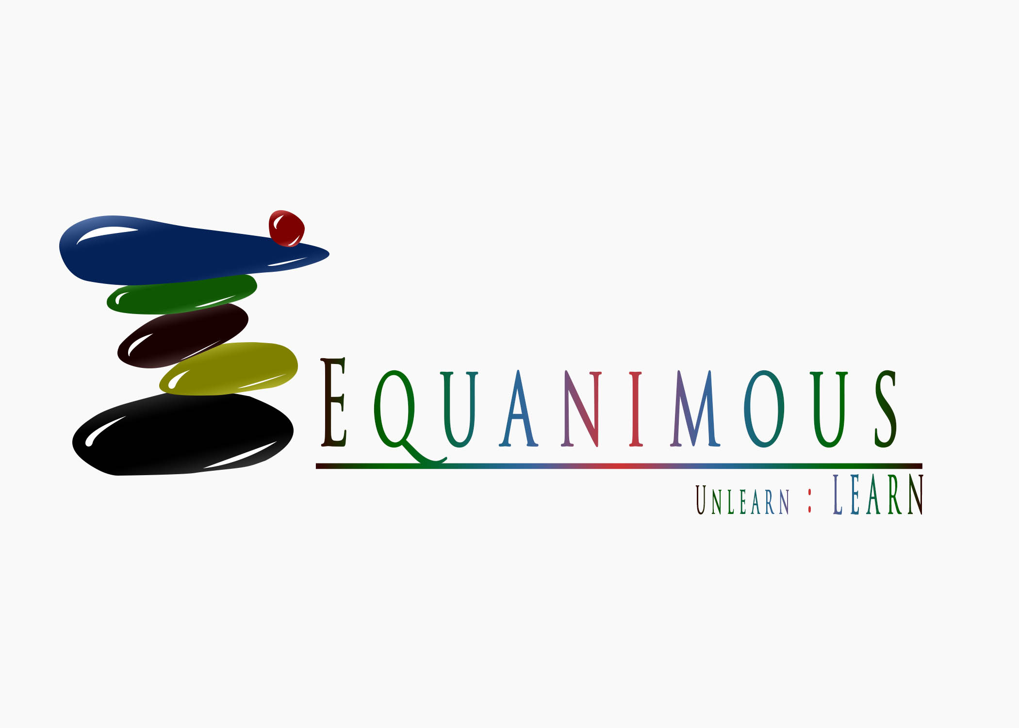 Logo Design by Private User - Entry No. 217 in the Logo Design Contest Logo Design : EQUANIMOUS : Productivity | Learning | Design.