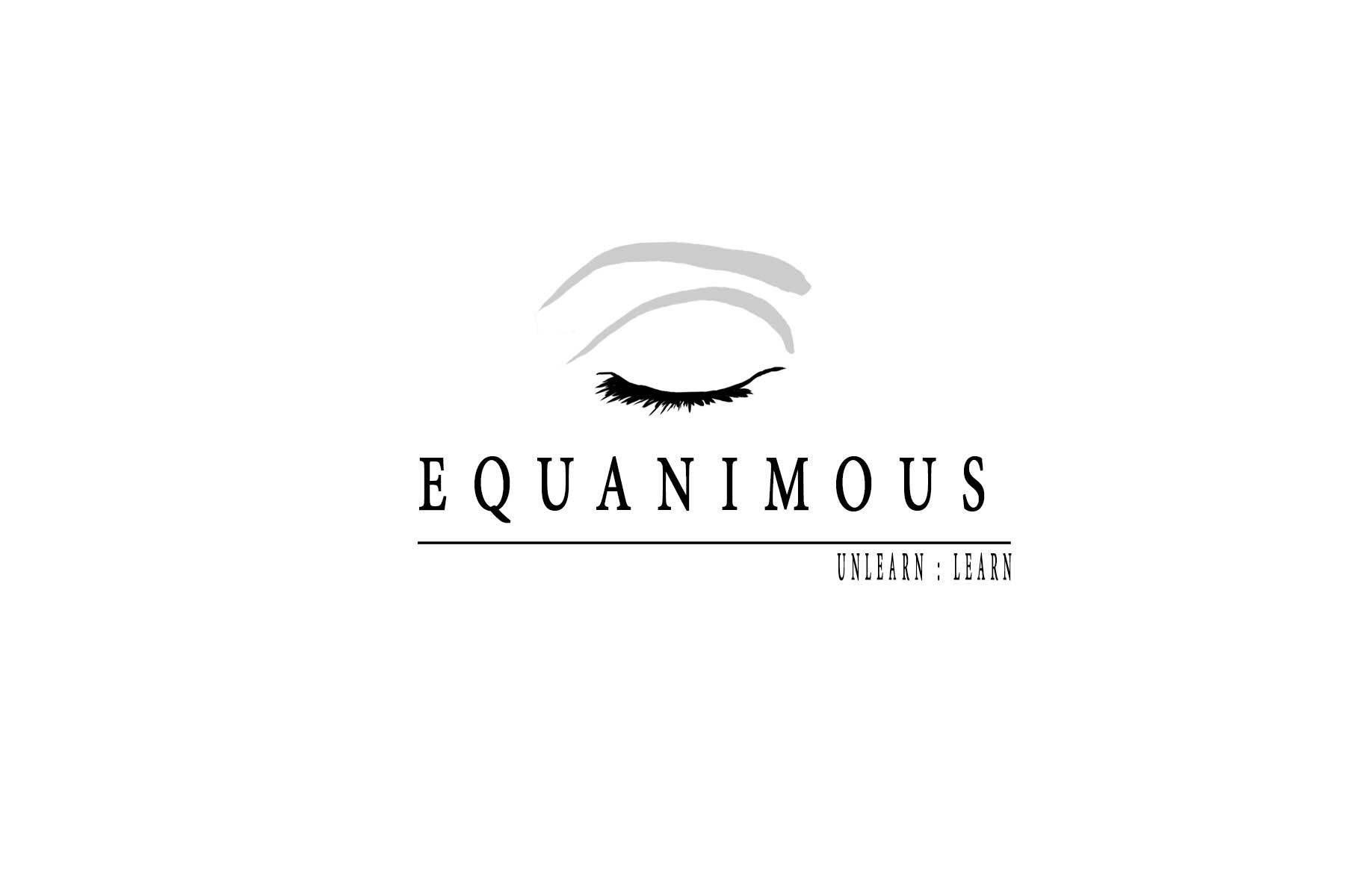 Logo Design by Private User - Entry No. 220 in the Logo Design Contest Logo Design : EQUANIMOUS : Productivity | Learning | Design.