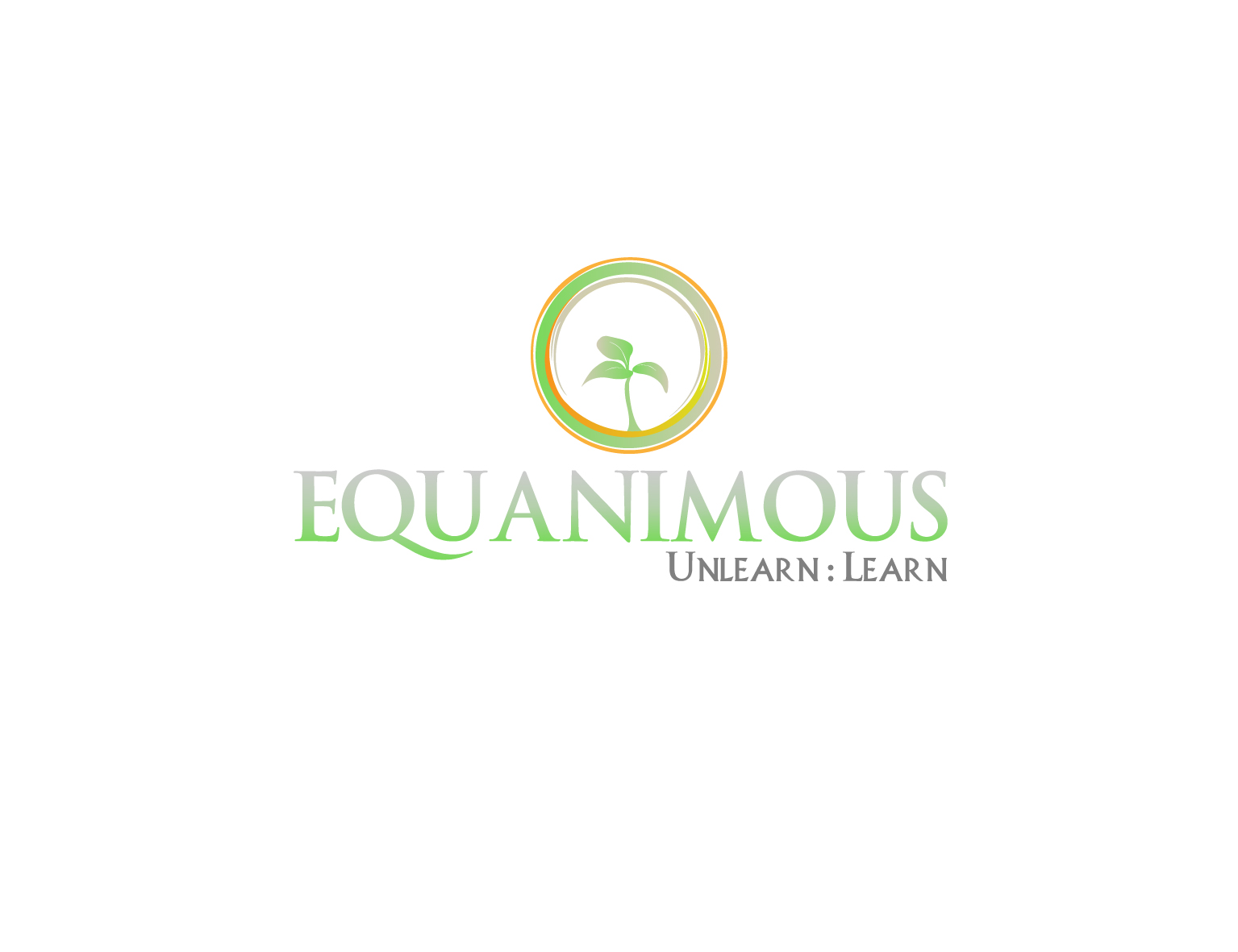 Logo Design by 3draw - Entry No. 222 in the Logo Design Contest Logo Design : EQUANIMOUS : Productivity | Learning | Design.