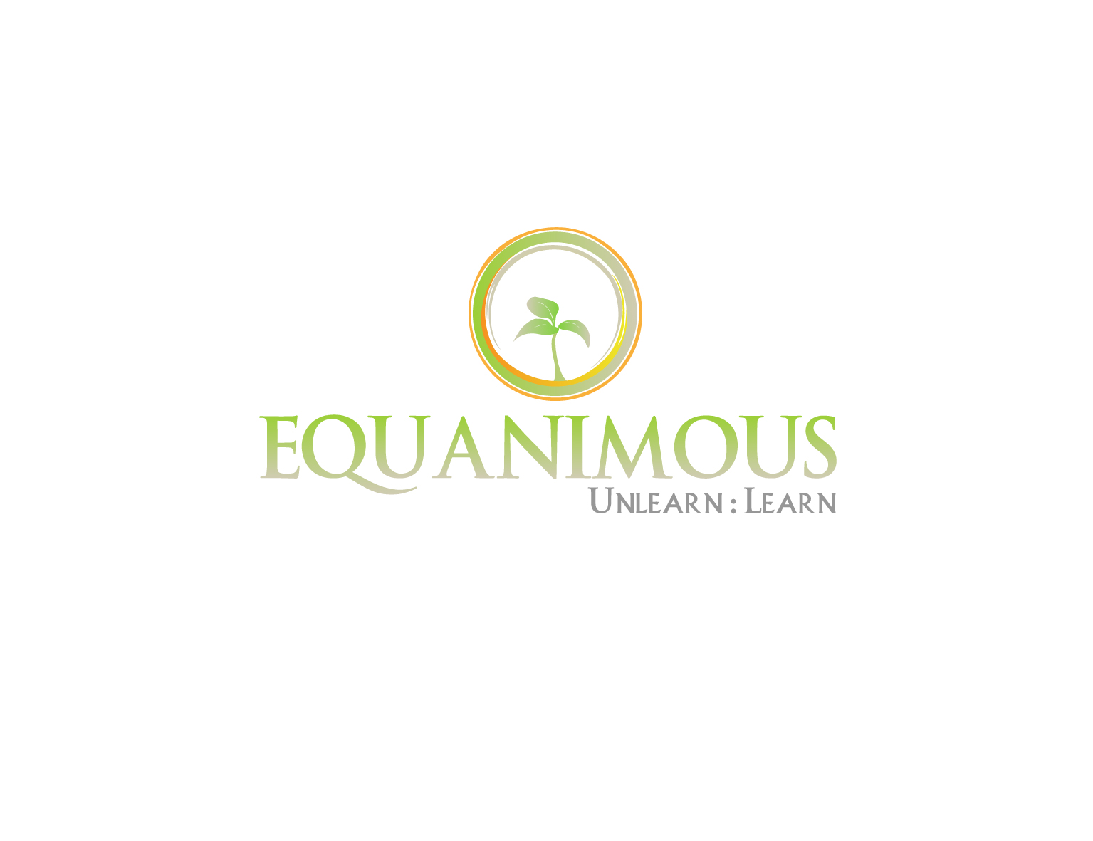 Logo Design by 3draw - Entry No. 223 in the Logo Design Contest Logo Design : EQUANIMOUS : Productivity | Learning | Design.