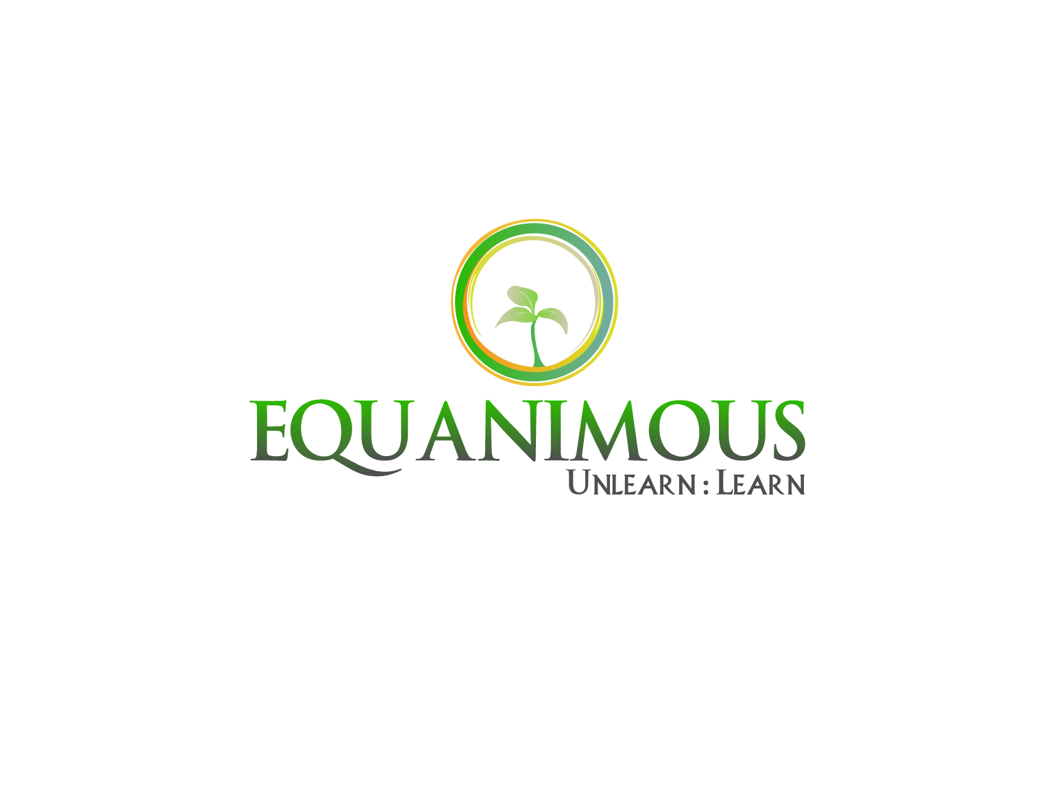 Logo Design by 3draw - Entry No. 225 in the Logo Design Contest Logo Design : EQUANIMOUS : Productivity | Learning | Design.