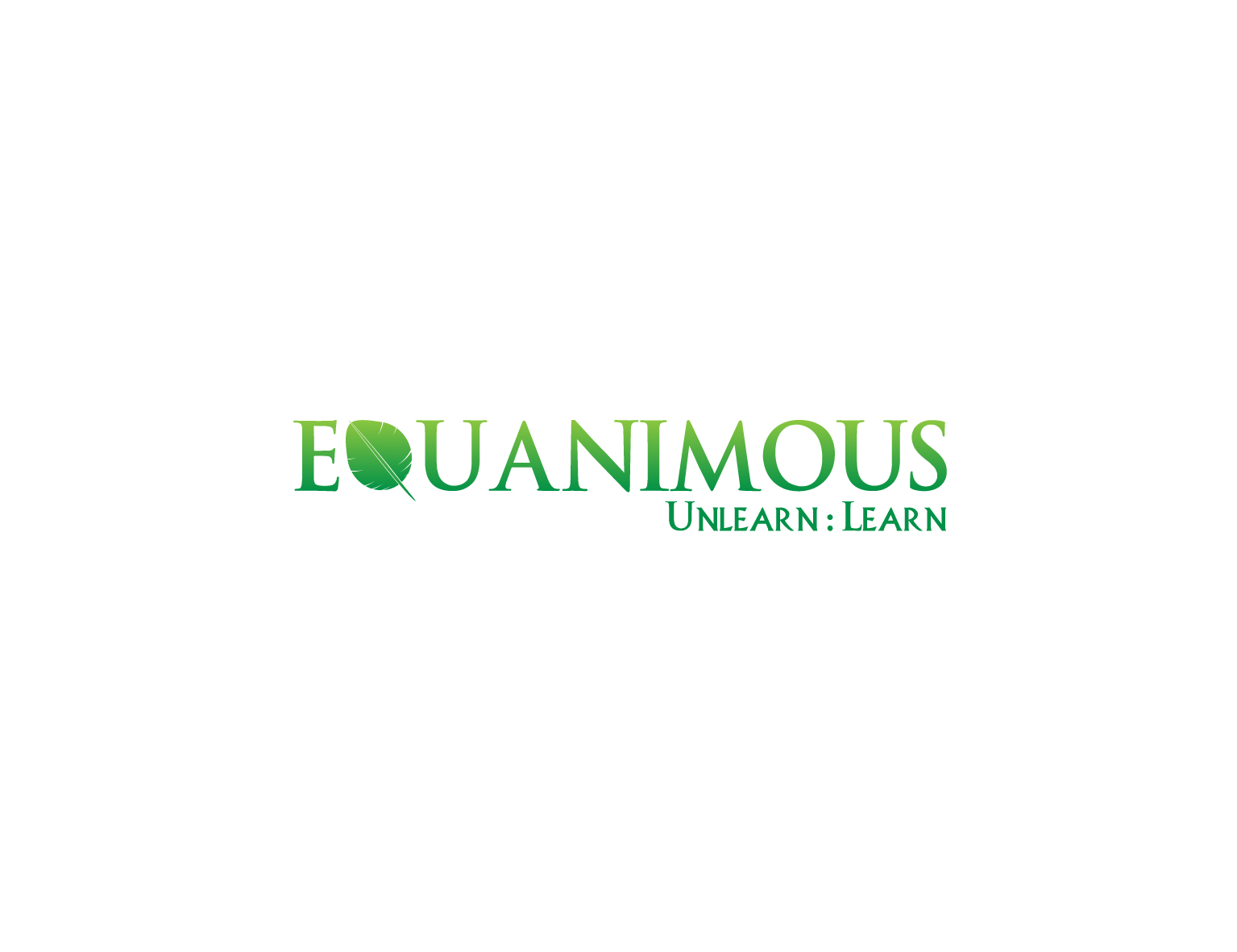 Logo Design by 3draw - Entry No. 229 in the Logo Design Contest Logo Design : EQUANIMOUS : Productivity | Learning | Design.