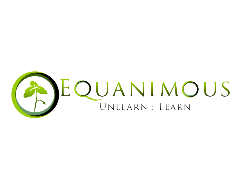 Logo Design by Mythos Designs - Entry No. 230 in the Logo Design Contest Logo Design : EQUANIMOUS : Productivity | Learning | Design.