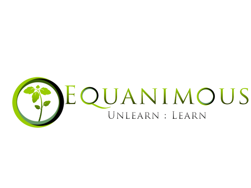 Logo Design by Mythos Designs - Entry No. 231 in the Logo Design Contest Logo Design : EQUANIMOUS : Productivity | Learning | Design.
