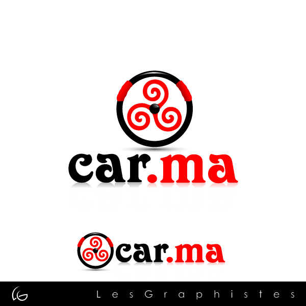 Logo Design by Les-Graphistes - Entry No. 72 in the Logo Design Contest New Logo Design for car.ma.