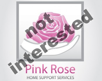 Logo Design by Barcecruz - Entry No. 56 in the Logo Design Contest Pink Rose Home Support Services.