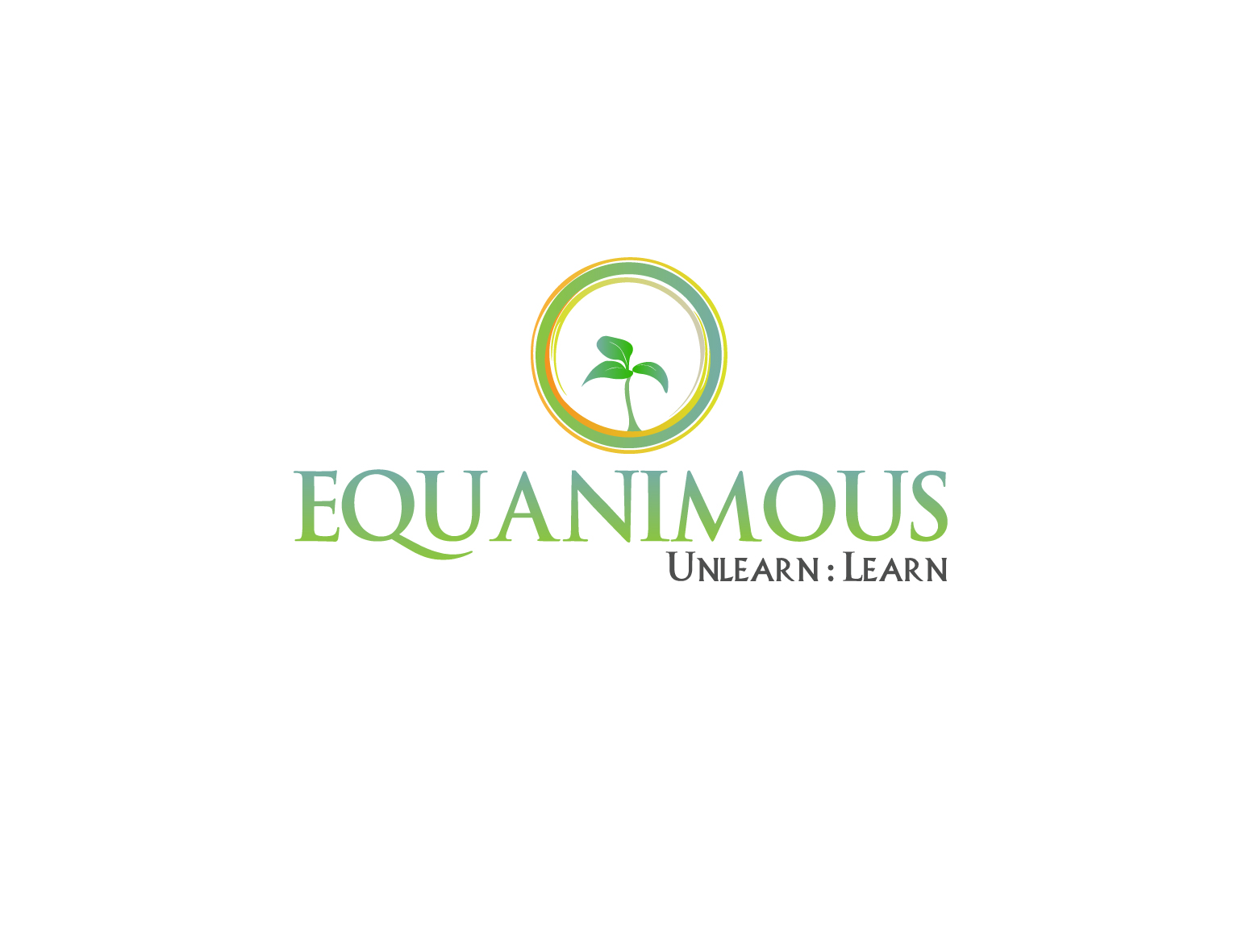 Logo Design by 3draw - Entry No. 233 in the Logo Design Contest Logo Design : EQUANIMOUS : Productivity | Learning | Design.