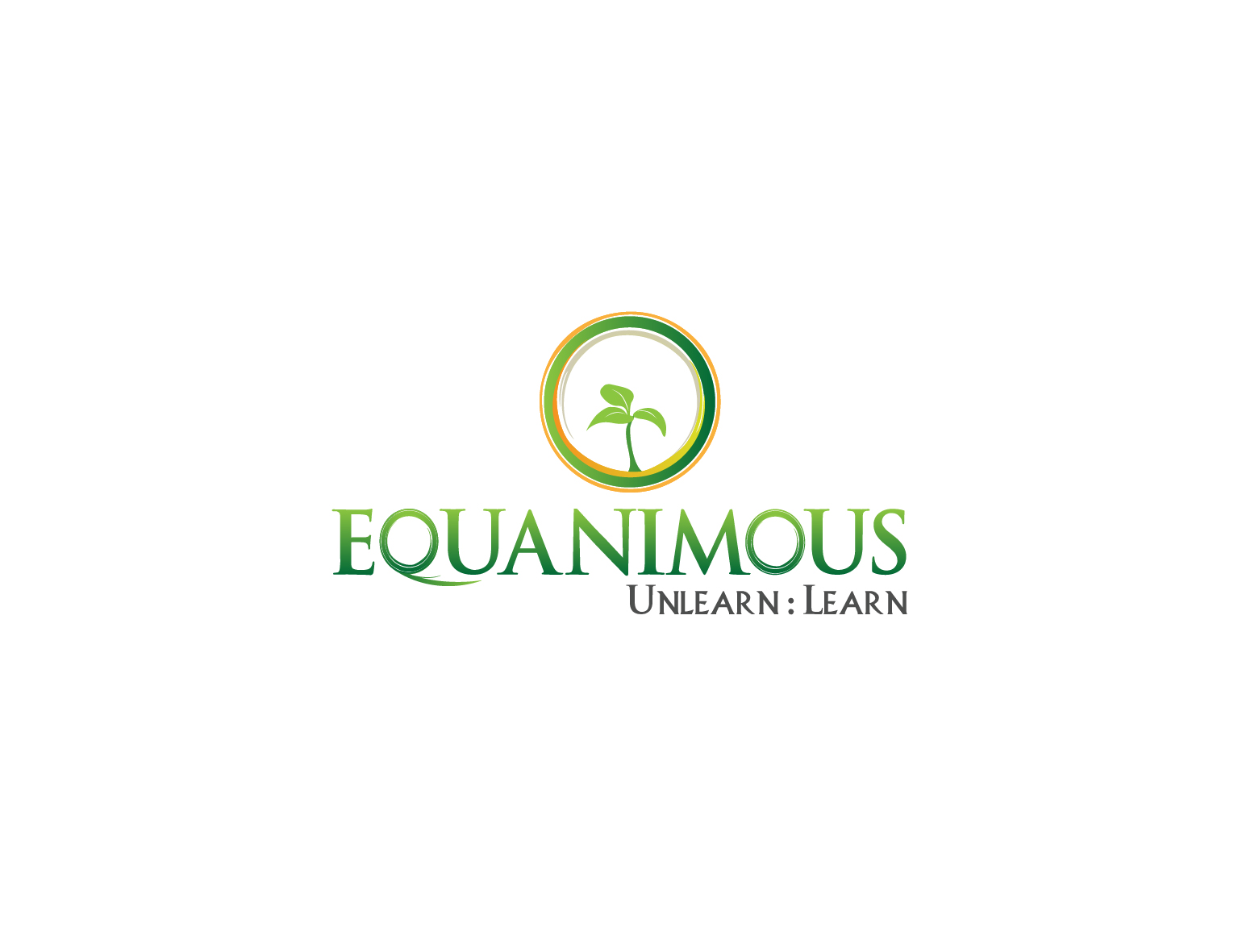 Logo Design by 3draw - Entry No. 234 in the Logo Design Contest Logo Design : EQUANIMOUS : Productivity | Learning | Design.