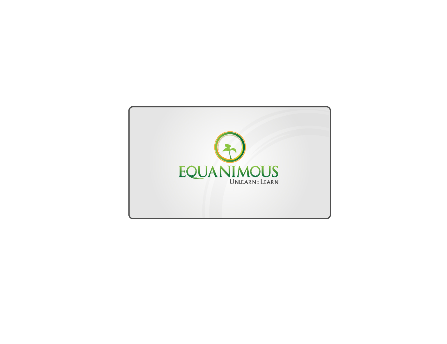Logo Design by 3draw - Entry No. 237 in the Logo Design Contest Logo Design : EQUANIMOUS : Productivity | Learning | Design.