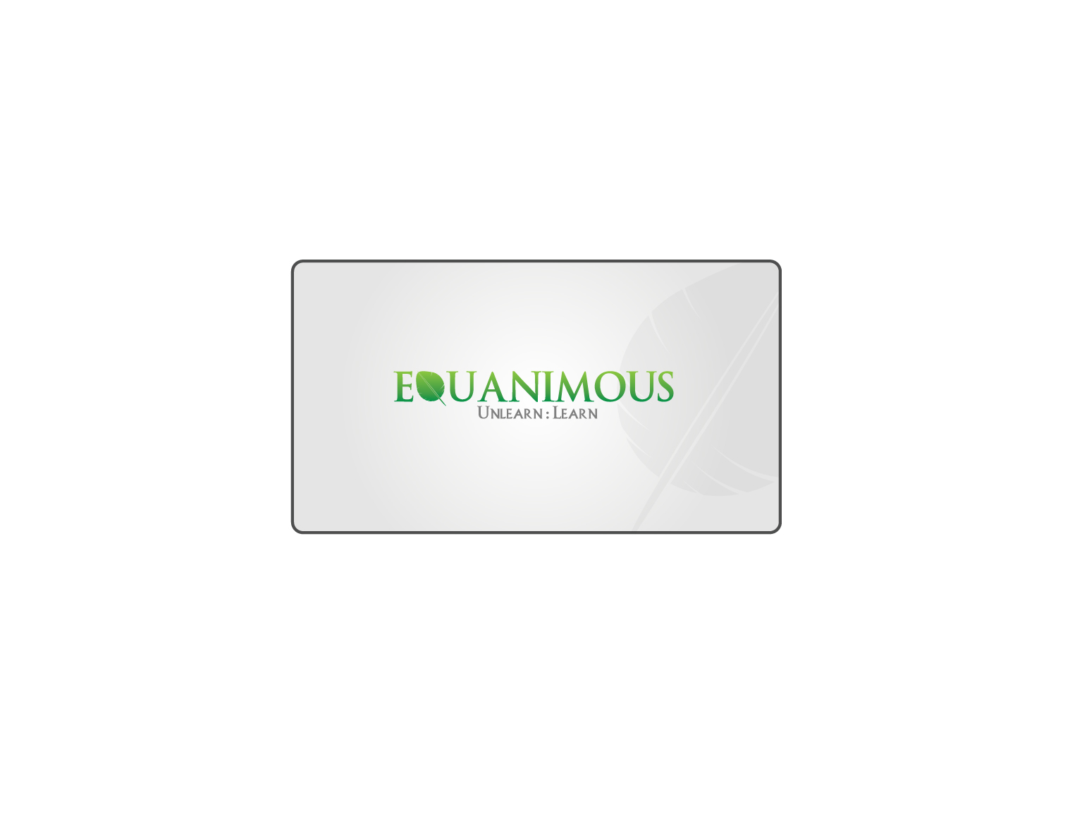Logo Design by 3draw - Entry No. 238 in the Logo Design Contest Logo Design : EQUANIMOUS : Productivity | Learning | Design.